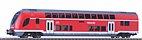 Piko 58805 - Doppelstock-Steuerwagen 2.Kl. DB Regio, Ep. VI - HO