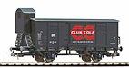 """Piko 58924 / Gedeckter Güterwagen """"Club Cola"""" DR Ep. III, HO - Neuheit 2019"""