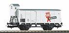 """Piko 58925 / Ged. Güterwagen """"Berliner Pilsner"""" DR  Ep. III, HO - Neuheit 2019"""