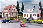 Piko 61145 - HO Bausatz - 2 Siedlungshäuser Neuburg mit Schuppen