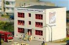 Piko 61150 - HO Bausatz - Plattenbau Polytechnische Oberschule