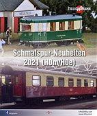 Tillig 09707 / Schmalspur HOm/HOe - Neuheiten Prospekt 2021