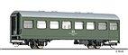 """Tillig 13228 - TT - Reko- Personenwagen grün DR """"Start"""""""