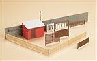 12256 Auhagen - Tore mit Häuserzubehör - HO/TT Bausatz