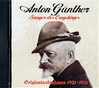 CD - Anton Günther / Originalaufnahmen 1921 - 1931 / 222501
