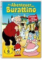 DVD - Die Abenteuer des Burattino (Icestorm 19865)