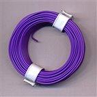 Kupferschaltdraht 1-adrig 0,5mm, 10m, Ring - lila/violett