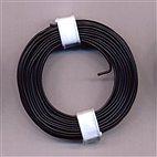 Kupferschaltdraht 1-adrig 0,5mm, 10m, Ring - schwarz