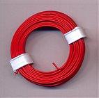 Kupferschaltdraht 1-adrig 0,5mm, 10m, Ring - rot
