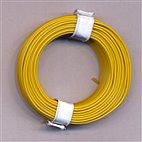 Kupferschaltdraht 1-adrig 0,5mm, 10m, Ring - gelb