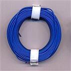 Kupferschaltdraht 1-adrig 0,5mm, 10m, Ring - blau