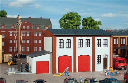 HO Bausatz - Betriebsfeuerwehr (Auhagen 11426)
